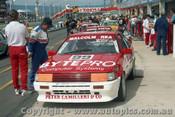 93741 - Steve Cramp / Denis Cribbin Toyota Corolla - Bathurst 1993 - Photographer Lance J Ruting