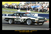 A.Hahne / J. Goss  -  Bathurst 1985 - Jaguar XJS - Printed with a black border and a caption describing the photo.