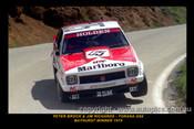 79701-1  -  P. Brock / J. Richards  -  Bathurst 1979 - 1st Outright & Class A Winner - Holden Torana A9X - Printed with a black border and a caption describing the photo.
