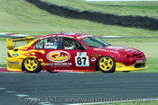 202710 - A. Grice & R. Halliday  Falcon AU - Bathurst 2002 - Photographer Craig Clifford