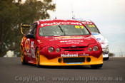 202711 - A. Grice & R. Halliday  Falcon AU - Bathurst 2002 - Photographer Craig Clifford