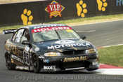 P. Brock & C. Baird Holden Commodore VX - Bathurst 2002 - Photographer Craig Clifford