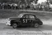 60006 -  Norm Beechey  Holden FX - Templestowe Hill Climb 1960 - Photographer Peter D Abbs