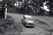 60007 - Alf Costanzo Fiat - Templestowe Hill Climb 1960 - Photographer Peter D Abbs