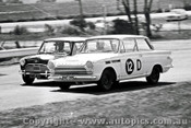 65740 -  Bill McLachlan & Jack Murray  Cortina GT 500   Bathurst 1965 - Photographer Lance J Ruting