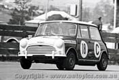 65743 - Bill Stanley & Ralph Sach  Morris Cooper S   Bathurst 1965 - Photographer Lance J Ruting