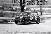 65744 - Ian Cook & Ken Lindsay  Morris Cooper S   Bathurst 1965 - Photographer Lance J Ruting