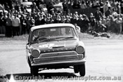 65747 - Barry Arentz & Geoff Russell  Cortina GT   Bathurst 1965 - Photographer Lance J Ruting