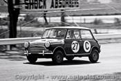 65748 - Phil Barnes & Doug Chivas  Morris Cooper S   Bathurst 1965 - Photographer Lance J Ruting