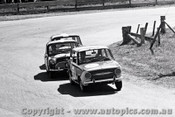 65755 - Bill Burns & Brian Lawler  Fiat 850   Bathurst 1965 - Photographer Lance J Ruting