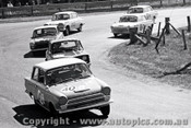 65761 - Max Volkers & Glyn Scott   Cortina 240  Bathurst 1965 - Photographer Lance J Ruting