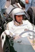 66606 - Jack Brabham Repco Brabham -  Tasman Series  Warwick Farm 1966 - Photographer Richard Austin