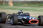 68598 - Pedro Rodregus - BRM V12 - Tasman Series  Sandown - 1968 - Photographer David Blanch