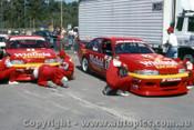 93015  -  M. Skaife & J. Richards  - Holden Commodore VP Amaroo 1993 - Photographer Ray Simpson