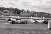 69564 - D. Uebergang - Gemini F3 & J. Thompson - Lotus 20B & H. Woelders - Elfin 600B- Sandown 16th February 1969 - Photographer Peter D Abbs