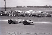 69567 - J. Mellen - Repco Brabham - Sandown 16th February 1969 - Photographer Peter D Abbs