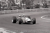 69573 - John Harvey - Brabham - Sandown 16th February 1969 - Photographer Peter D Abbs