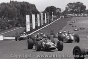 69579 - C. Millis - Rennmax & P. Larner - Brabham - Sandown 16th February 1969 - Photographer Peter D Abbs