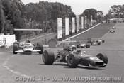 69585 - Chris Amon - Ferrari Dino - Sandown 16th February 1969 - Photographer Peter D Abbs
