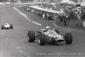 69589 - Col Green - Brabham Climax - Sandown 16th February 1969 - Photographer Peter D Abbs