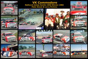 VK Commodore - A collection of 16 photos of The Bathurst 1984 Winner - Peter Brock & Larry Perkins