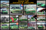 Greens  Tuff - A collection of 16 photos of Dick Johnson s XE Falcon - 1983 & 1984
