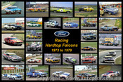 427 - Racing Ford Hardtops - A collection of 28 photos of racing Ford Hardtops from 1973 to 1979.