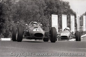69598 - M. Hall Elfin Ford & G. North Wren Formula Ford  - Sandown  1969 - Photographer Peter D Abbs