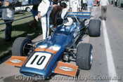 71638 - Frank Matich  - McLaren M10B - Warwick Farm 1971Tasman Series - Photographer David Blanch