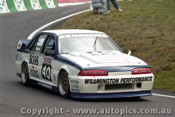 92740  - John Leeson / Rohan Cooke - Holden Commodore VL  -  Bathurst 1992 - Photographer Lance J Ruting