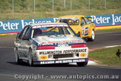 92745  - John Leeson / Rohan Cooke - Holden Commodore VL  -  Bathurst 1992 - Photographer Lance J Ruting