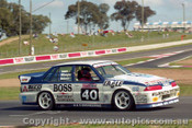 92747  - John Leeson / Rohan Cooke - Holden Commodore VL  -  Bathurst 1992 - Photographer Lance J Ruting