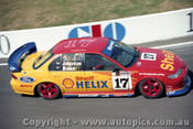 97729 - D. Johnson / J. Bowe  - Ford Falcon EL - Bathurst 1997 - Photographer Ray Simpson