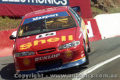 97731 - S. Johnson / C. Baird  - Ford Falcon EL - Bathurst 1997 - Photographer Ray Simpson