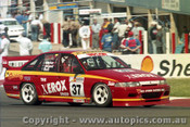 97738 - S. Taylor / B. Attard / S. Bell -  Holden  Commodore VS - Bathurst 1997 - Photographer Ray Simpson