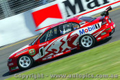 Mark Skaife - Holden Commodore VY -  Albert Park 2003 - Photographer Jeremy Braithwaite