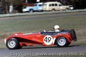 67312 - Bob Beasley - Lotus Super 7 - Warwick Farm 1967 - Photographer Adrien Schagen