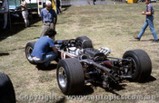 68600 - Piers  Courage  - McLaren M4A -   Warwick Farm Tasman Series 1968 - Photographer David Blanch