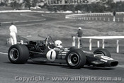 69609 - Frank Matich - McLaren M10B - Sandown  1969 - Photographer Peter D Abbs