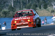 88070  - Dick Johnson  Ford Sierra RS500 - Lakeside 1988 - Photographer Ray Simpson