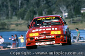 88071  - John Bowe  Ford Sierra RS500 - Lakeside 1988 - Photographer Ray Simpson