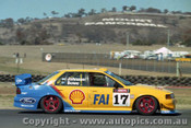 94733  -  D. Johnson / J. Bowe - Falcon EB -  1st Outrigh  Bathurst 1994 - Photographer Ray Simpson