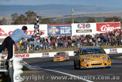 94735  -  D. Johnson / J. Bowe - Falcon EB -  1st Outrigh  Bathurst 1994 - Photographer Ray Simpson