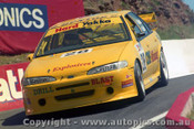 97781 - K. WALDOCK / J. SMITH - Ford Falcon EF - Bathurst 1997 - Photographer Ray Simpson