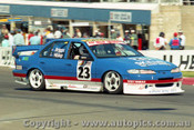 97790 - R. HISLOP/ T. BRIGGS - Ford Falcon EF - Bathurst 1997 - Photographer Ray Simpson