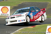 98003 - Glen Steon Ford Falcon EL - Sandown 1998 - Photographer Ray Simpson