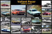 Valiant Pacer - A collection of 16 images of the Valiant Pacer  from 1969 to 1972