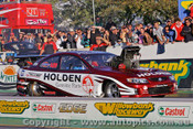 206903 - Maurice Fabietti Monaro - Winter Nats Willowbank Raceway 2006 - Photographer Marshall Cass