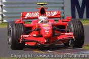 207501 - K. Raikkonen Ferrari - Australian Grand Prix Albert Park Melbourne 2007 - Photographer Marshall Cass