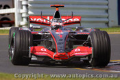 207502 - F. Alonso McLaren - Australian Grand Prix Albert Park Melbourne 2007 - Photographer Marshall Cass